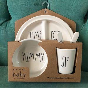 Rae Dunn baby meal set
